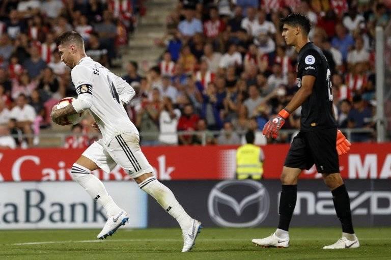 Gol de Sergio Ramos contra el Girona