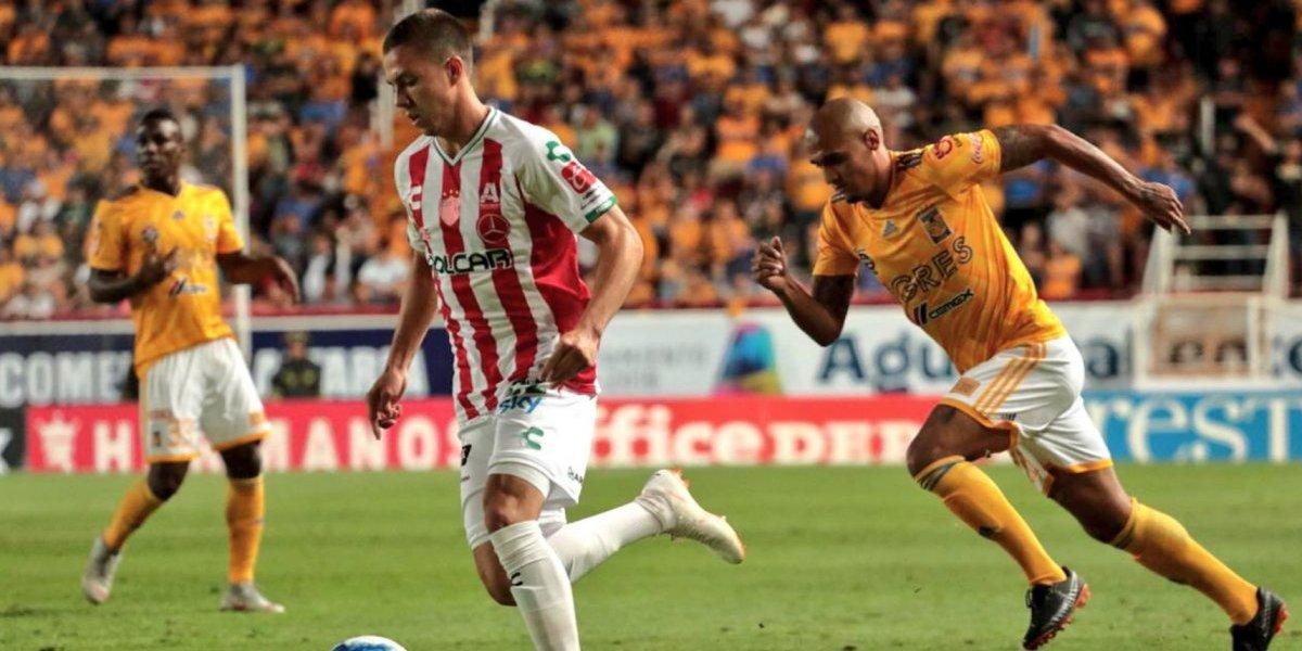 Tigres rescata sufrido empate ante Necaxa