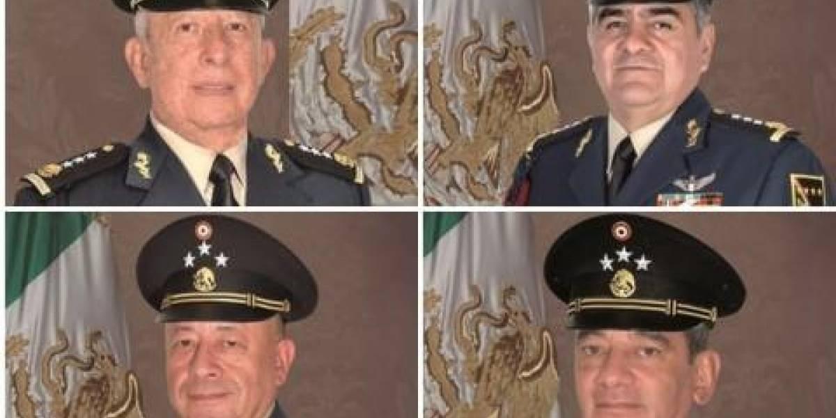 Los 4 generales que perfilan para la Sedena