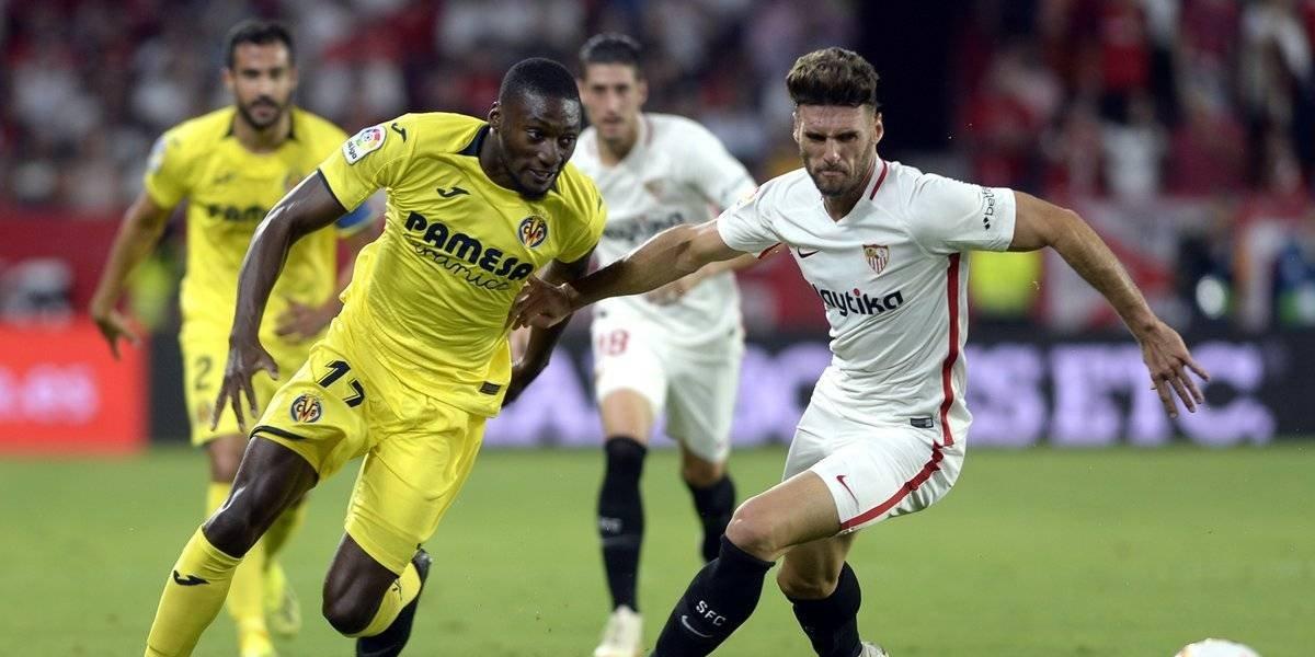 Sin Layún en la cancha, Villarreal empata ante Sevilla