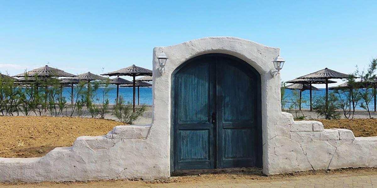 Foto: Desafío desconcierta a las redes sociales: ¿Una playa o una puerta?