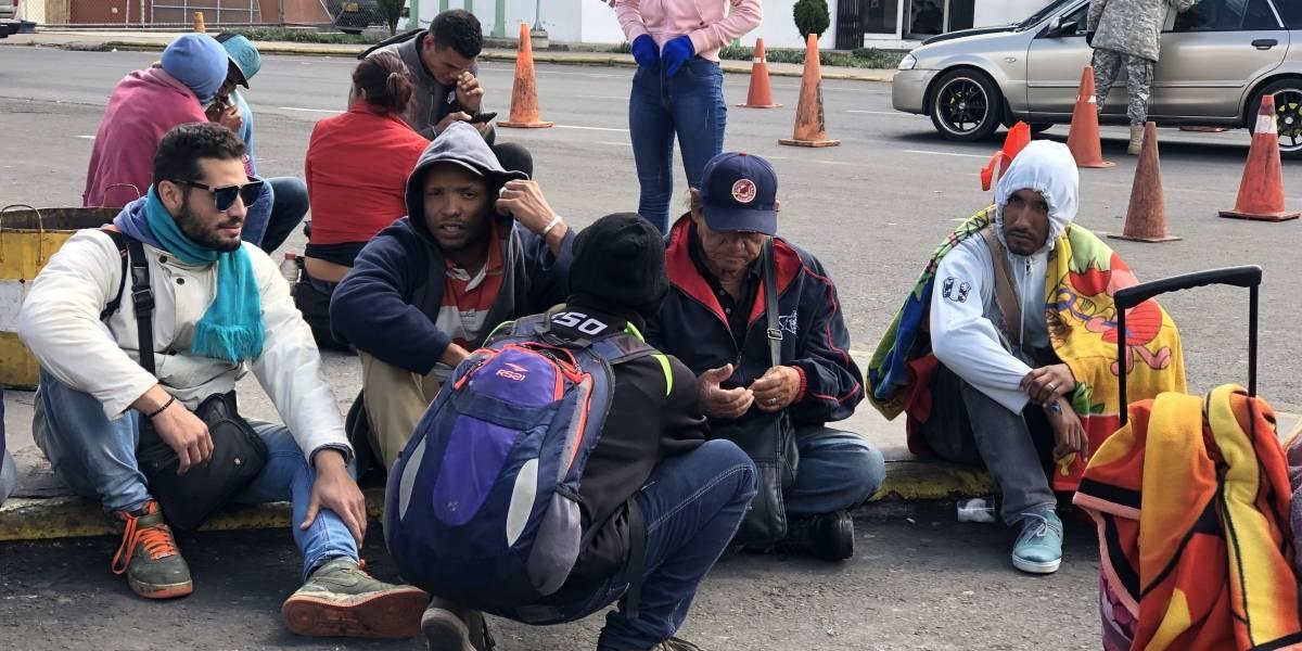 Ecuador reportó normalidad en frontera con Perú tras arribo de venezolanos
