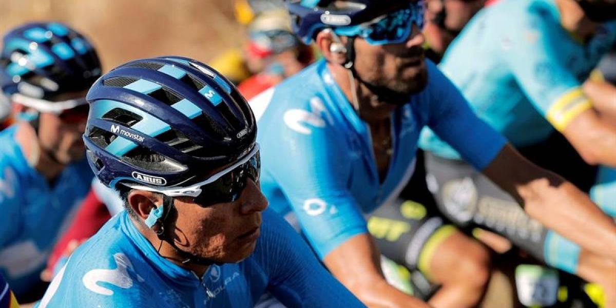 Jornada de trámite para los colombianos en la tercera etapa de la Vuelta a España