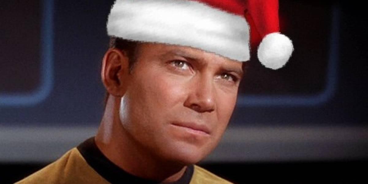"""El """"Capitán Kirk"""" de Star Trek lanzará su propio álbum musical con canciones de Navidad"""