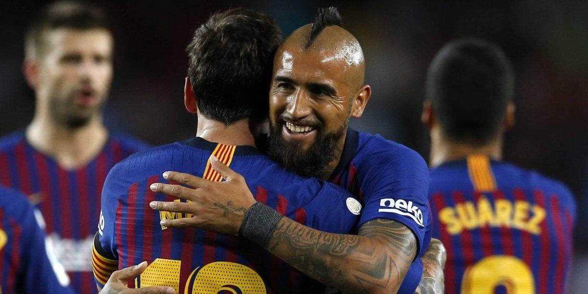 Arturo Vidal tendrá cena de bienvenida con todo el plantel del Barcelona