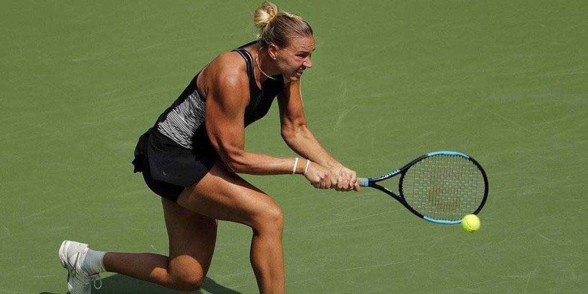 Eliminan a Simona Halep en primera ronda del US Open
