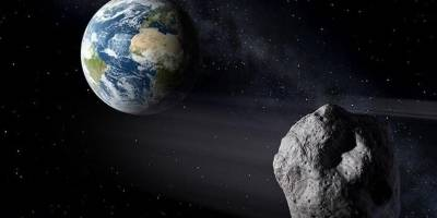 Imagen de un asteroide tomada por la NASA.