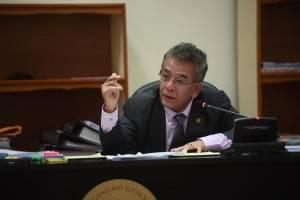 audiencia para informar motivo de detención a Erick Melgar Padilla