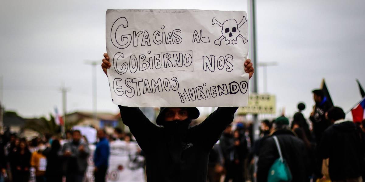 Contaminación en Quintero y Puchuncaví mantiene a la comunidad en pie de lucha por la infancia y juventud