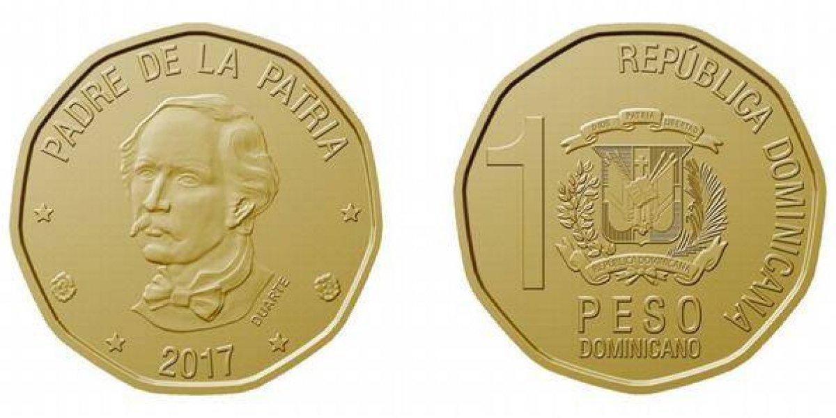 Banco Central pone a circular nueva moneda de 1 peso