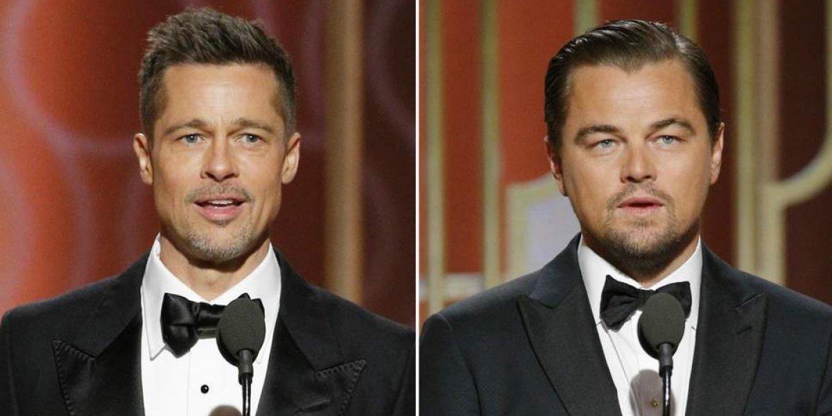 Pitt y DiCaprio enloquecen a sus fans con las primeras imágenes de su película