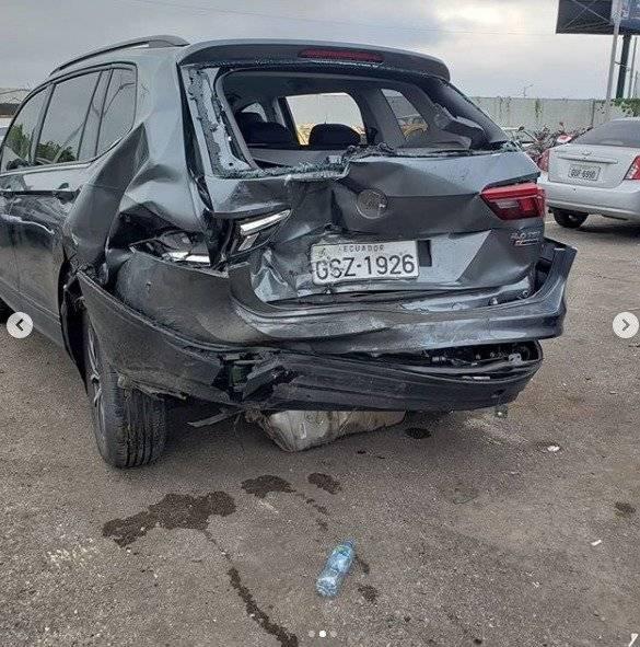 Accidente de Andrés Jungbluth Instagram