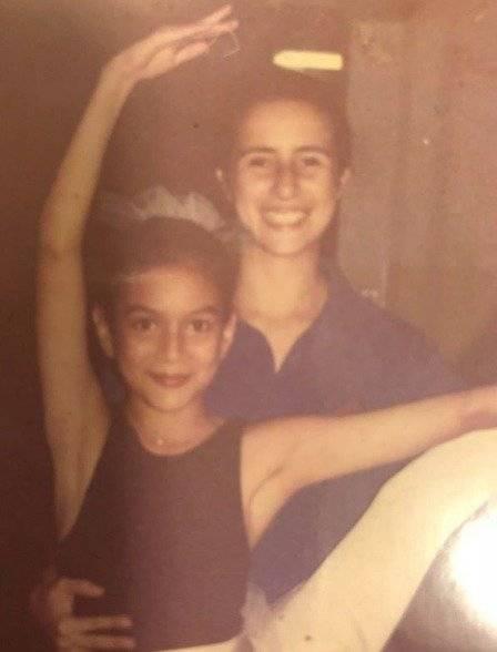 María Fernanda Ríos compartió fotografía de su infancia