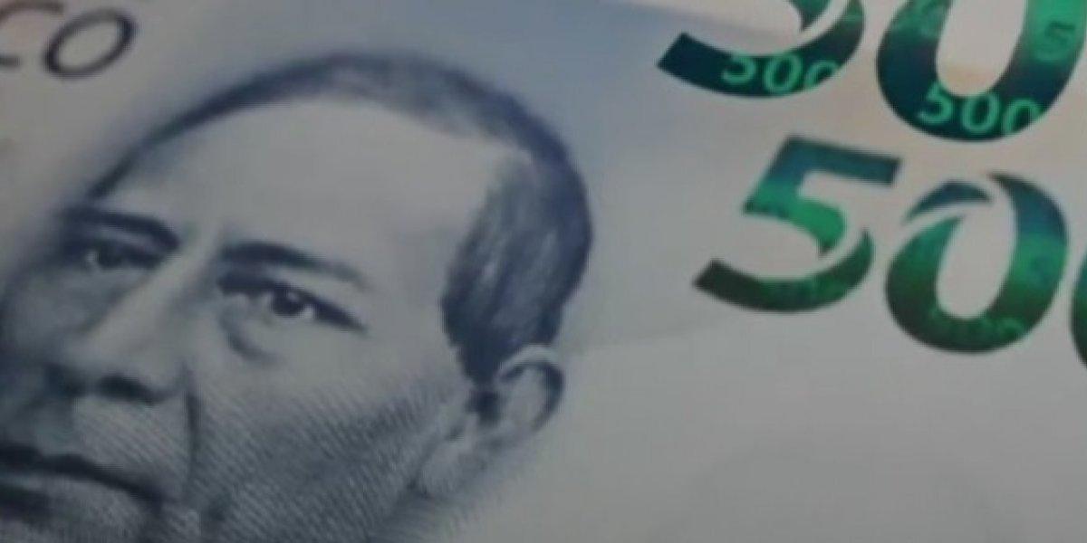 ¿Cómo es el nuevo billete de 500 pesos?