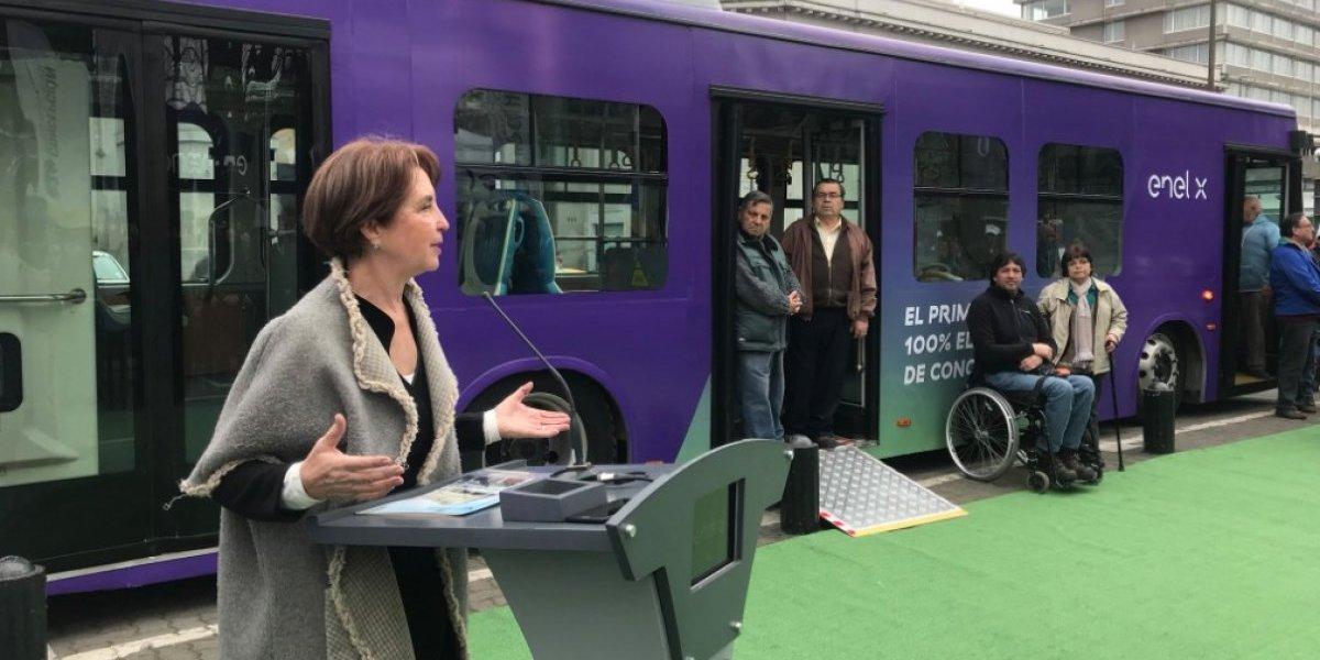 Luz verde al primer bus eléctrico para las regiones: comenzó a operar en Concepción y será gratuito