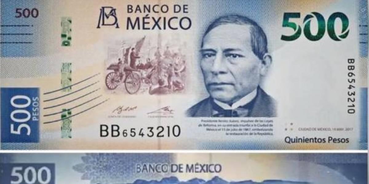 México le dice adiós al billete de 20 pesos, cambia la imagen del de 500... y obviamente hay memes