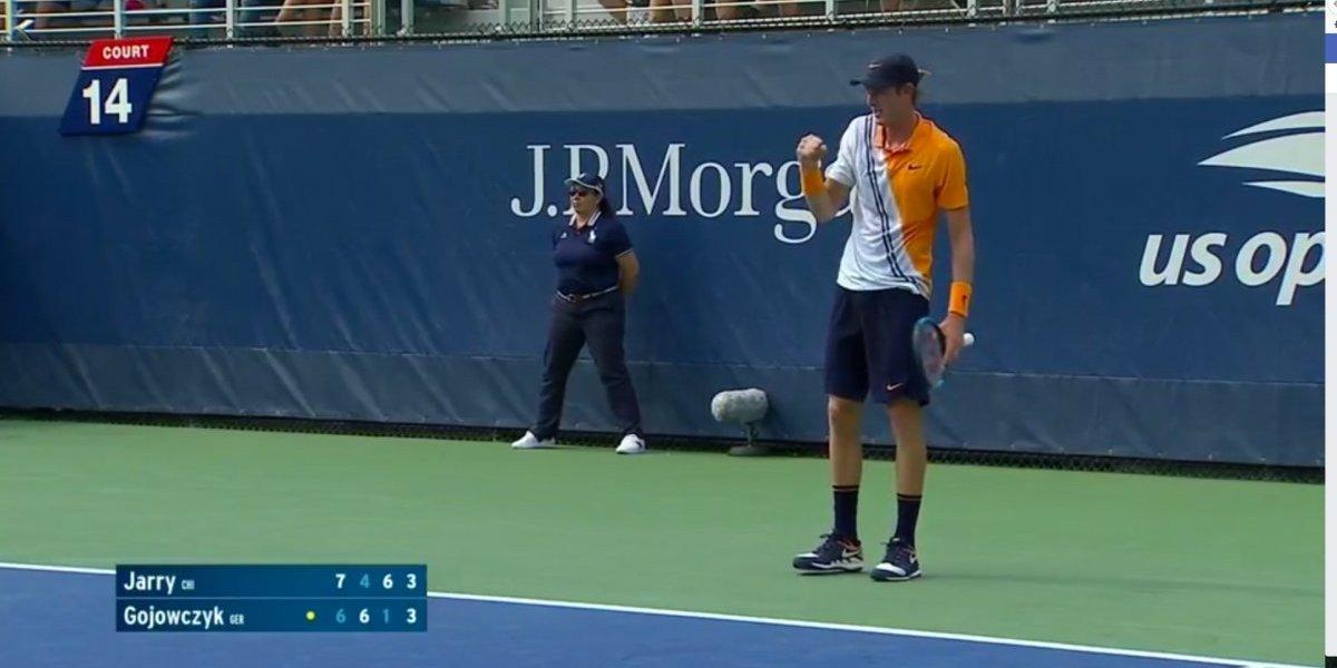 Nicolás Jarry debutó con un triunfazo y ahora tendrá un choque de lujo en el US Open