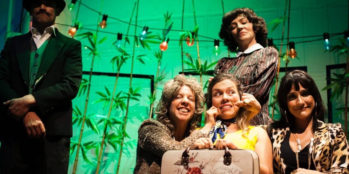 'Las tías': la obra en la que Chichila Navia se le mide al circo