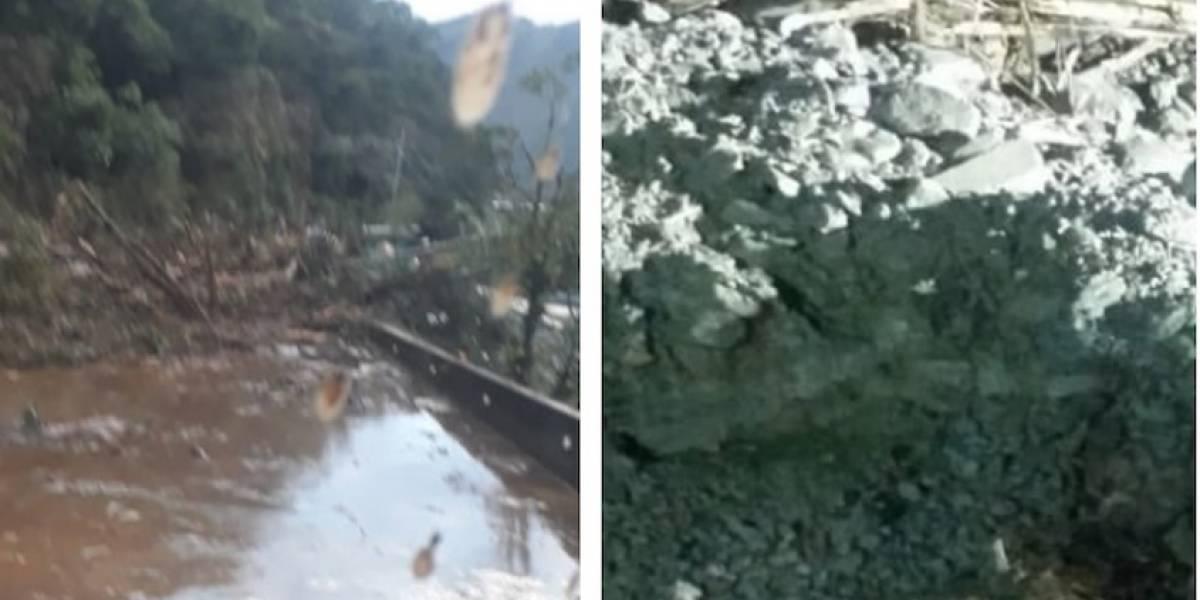 ¡Pilas! Vía Bogotá- Villavicencio permanece cerrada