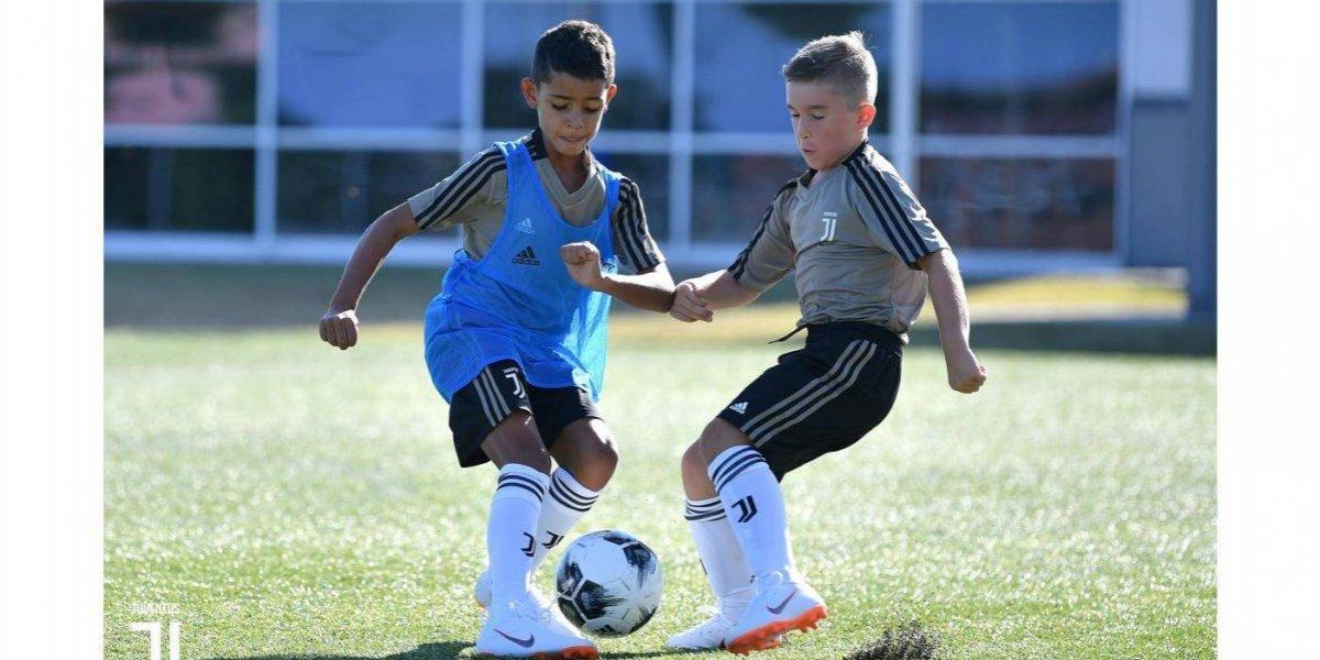 Hijo de Cristiano Ronaldo ya entrena en las inferiores de la Juventus