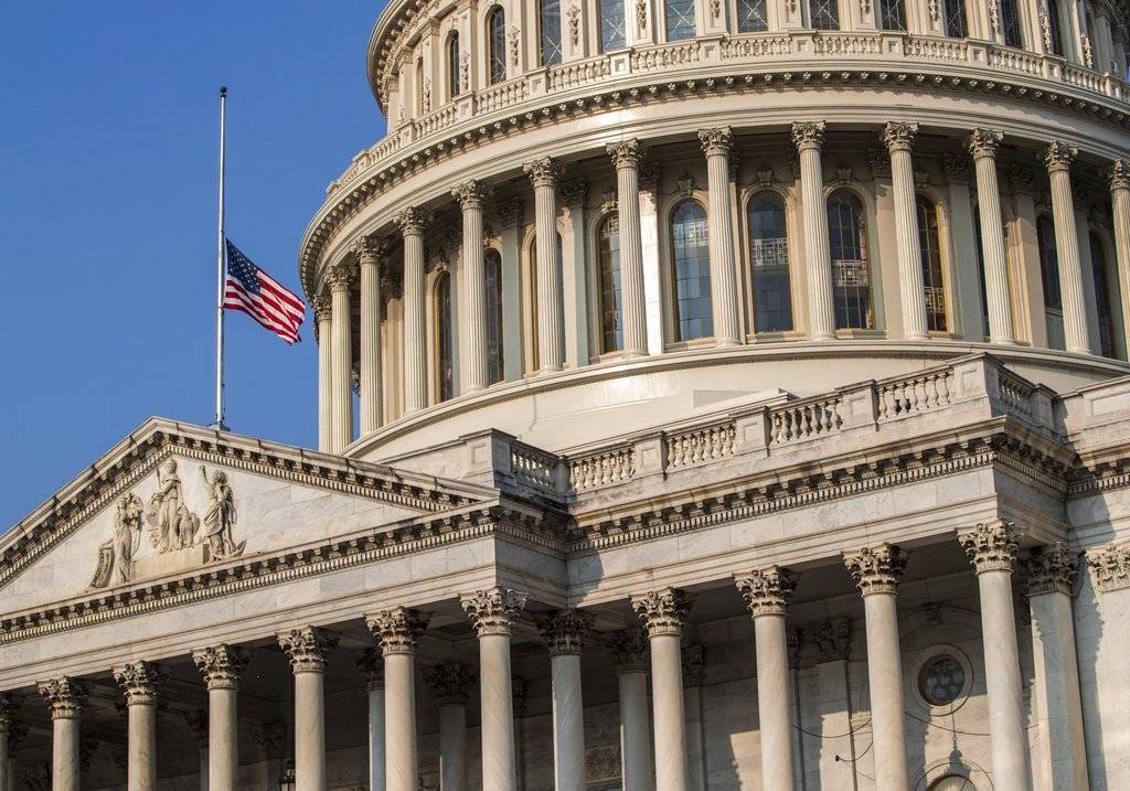 Banderas en el Capitolio