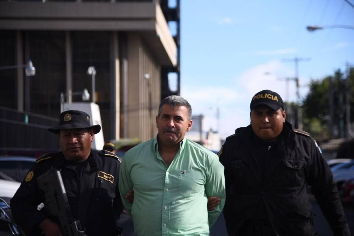 Capturan a Erick Melgar Padilla en operativo del MP y CICIG