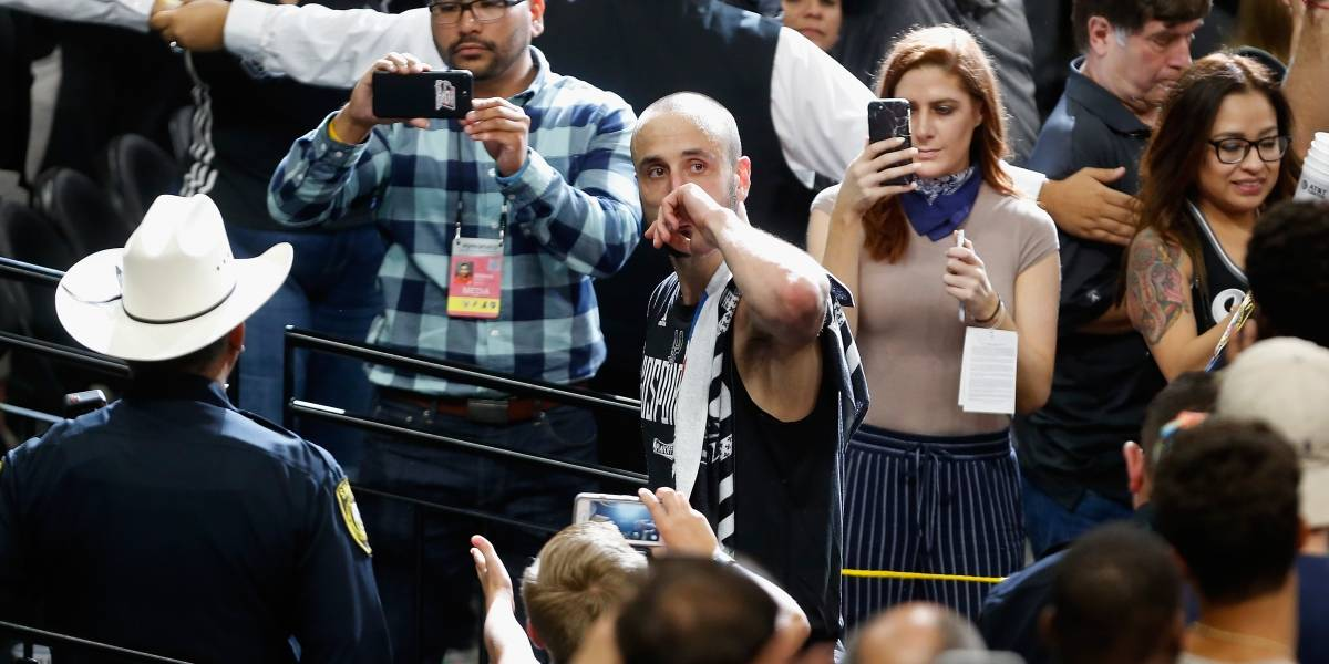 """Manu Ginóbili, el """"Maradona del básquetbol argentino"""" anunció su adiós con cuatro anillos de NBA y un oro olímpico"""