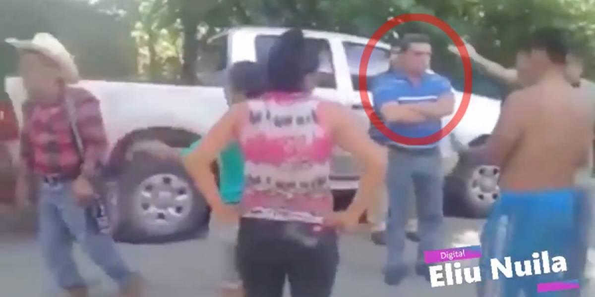 VIDEO. Joviel Acevedo es consignado tras atropellar a ciclista
