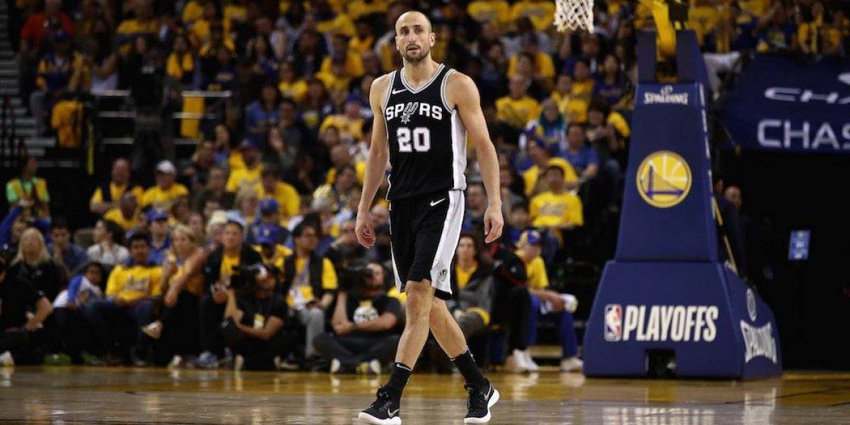 Manu Ginóbili anunció su retiro del basquetbol profesional