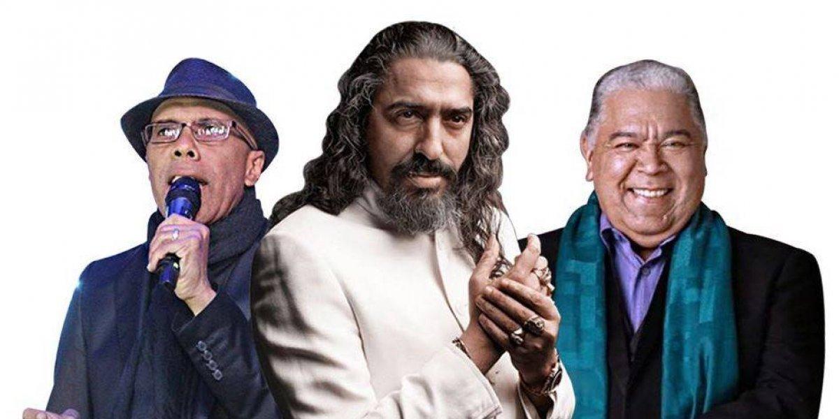 """Diego Cigala, Danny Rivera y  Ramón Orlando cantarán """"A tres tiempos"""" el 29 de septiembre"""