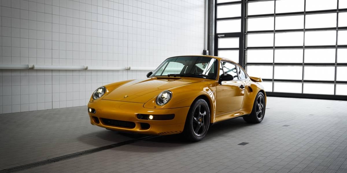 Porsche presenta su Proyecto de Oro: un 911 clásico con piezas originales