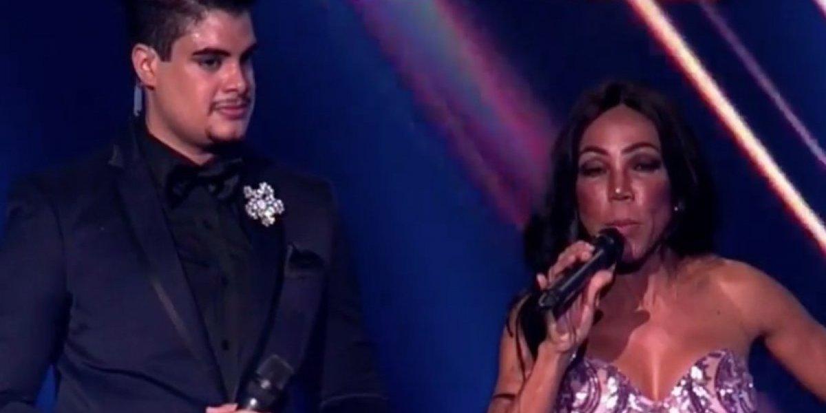 ¿Ebria Magali Febles en la final de Miss República Dominicana Universo 2018?