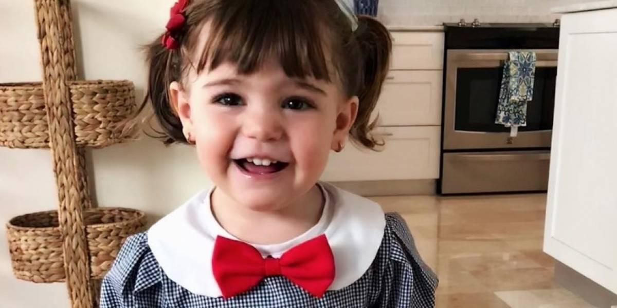 """Hija de Alfonsina Molinari y Jorge Castro canta """"Mi escuelita"""""""