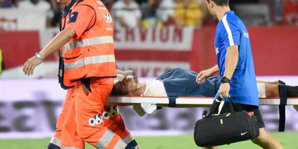 Sergio Escudero sufre terrible lesión en el brazo durante el Sevilla vs Villarreal