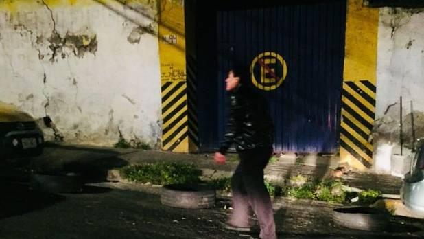 Fotografía de uno de los agresores, tomada por la víctima