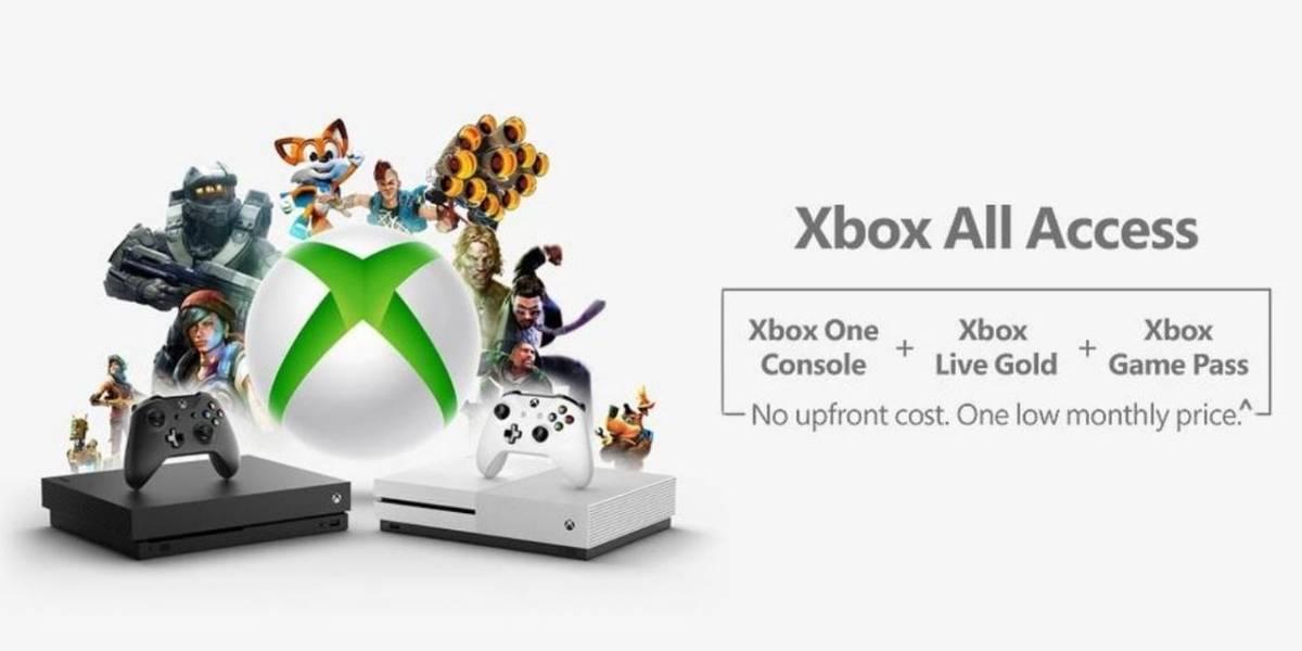 Microsoft lanza Xbox All Access