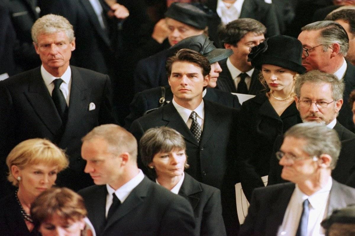 Tom Cruise funeral Diana