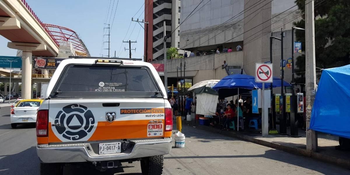 Alarma de bomba moviliza a personal del IMSS en Monterrey