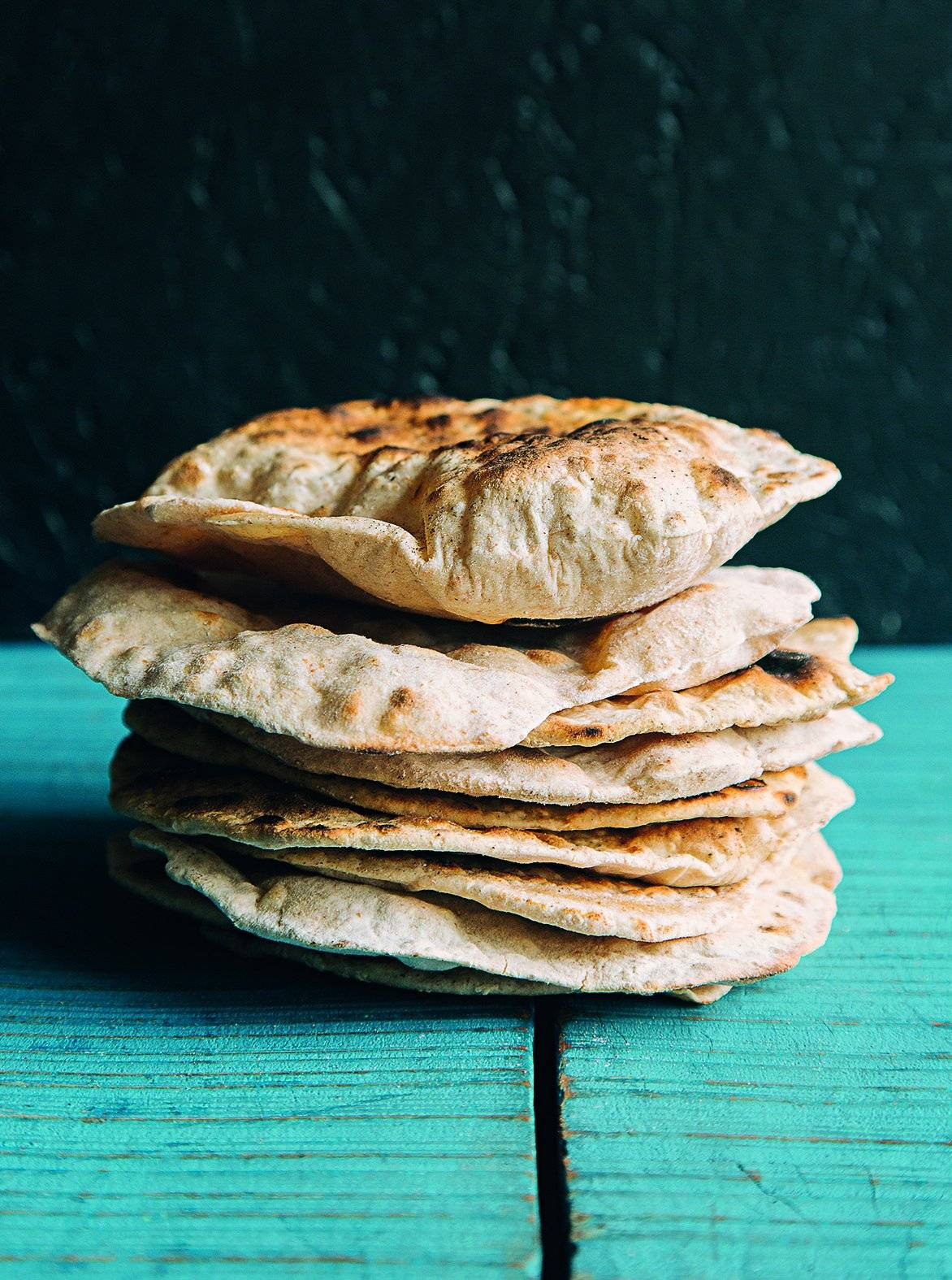 O tradicional pão naan Bruno Geraldi/Divulgação