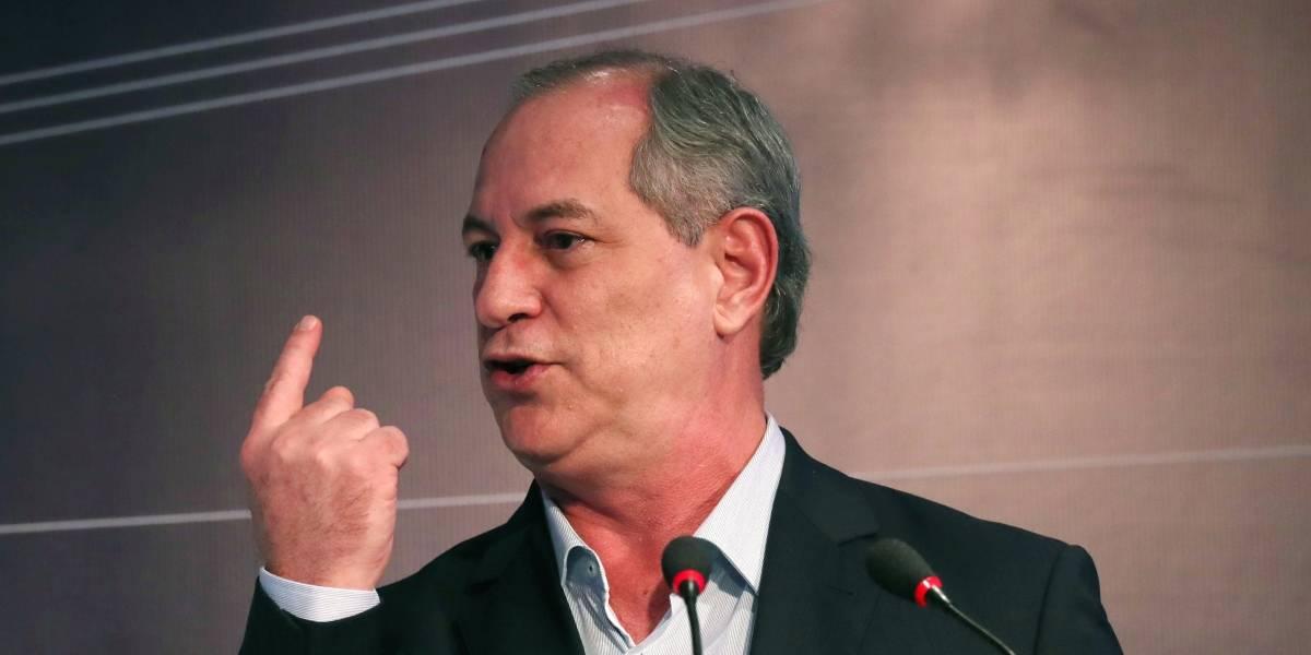 Ciro ataca Bolsonaro e diz que deputado vai cobrar mais impostos dos mais pobres