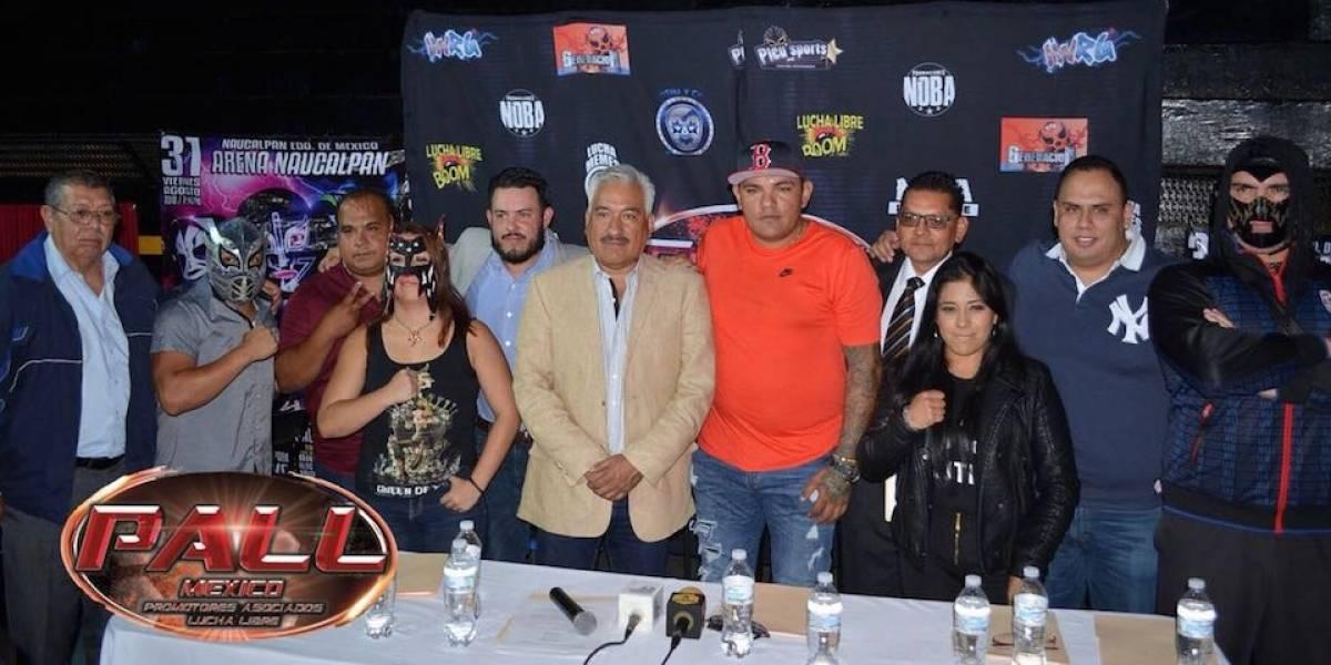Promotores independientes se unen para dignificar la lucha libre
