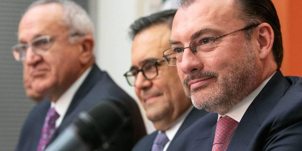 Videgaray agradece a López Obrador apoyo en negociación del TLCAN