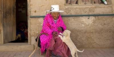 Anciana boliviana de 118 años