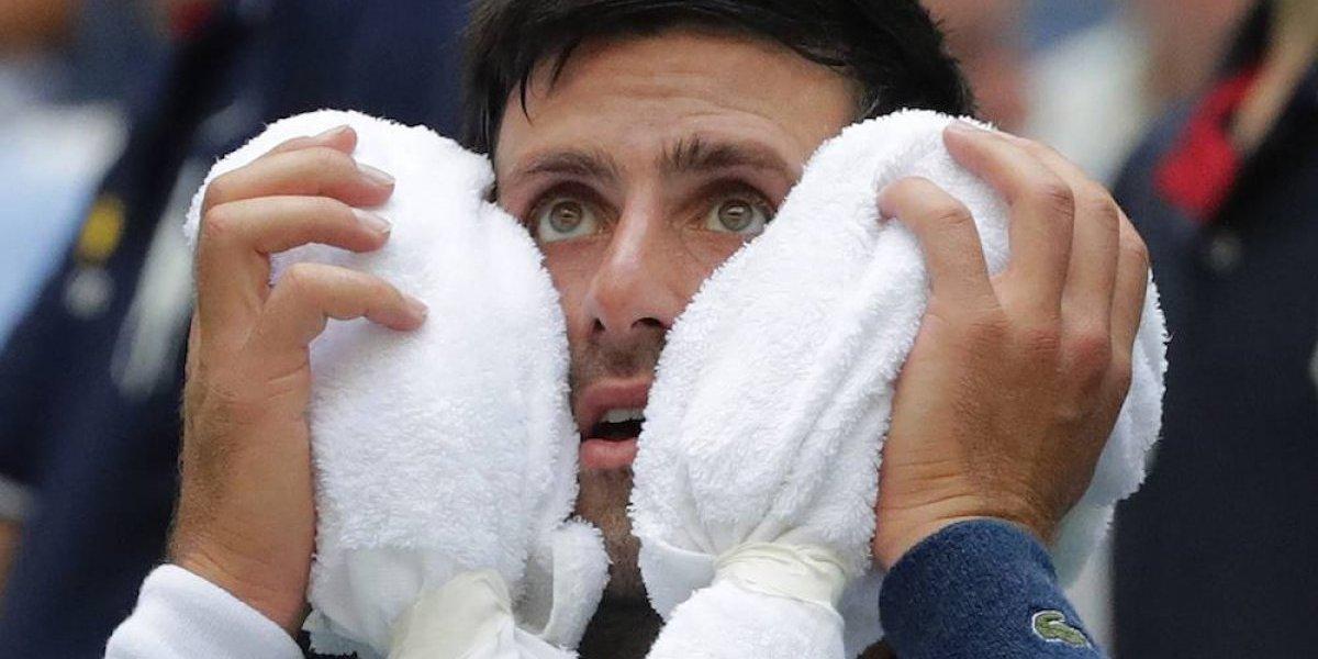 Calor hace sufrir a participantes del US Open