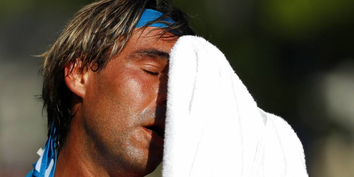 Calor juega en contra de todos los participantes del US Open
