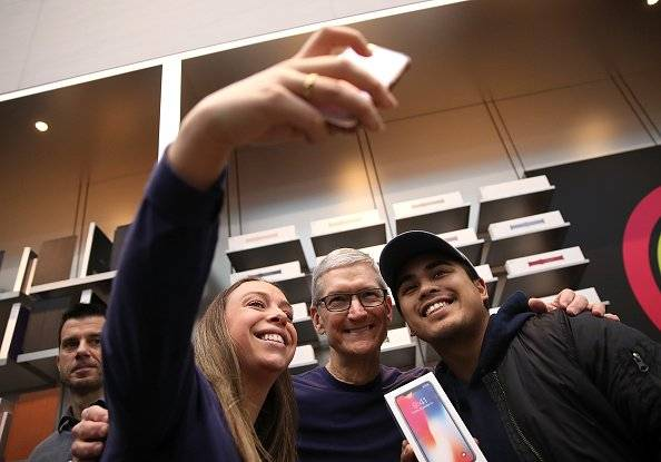 Apple es la primera empresa con un valor de mercado de USD 1 billón (1.000.000.000.000) Foto: Getty Images