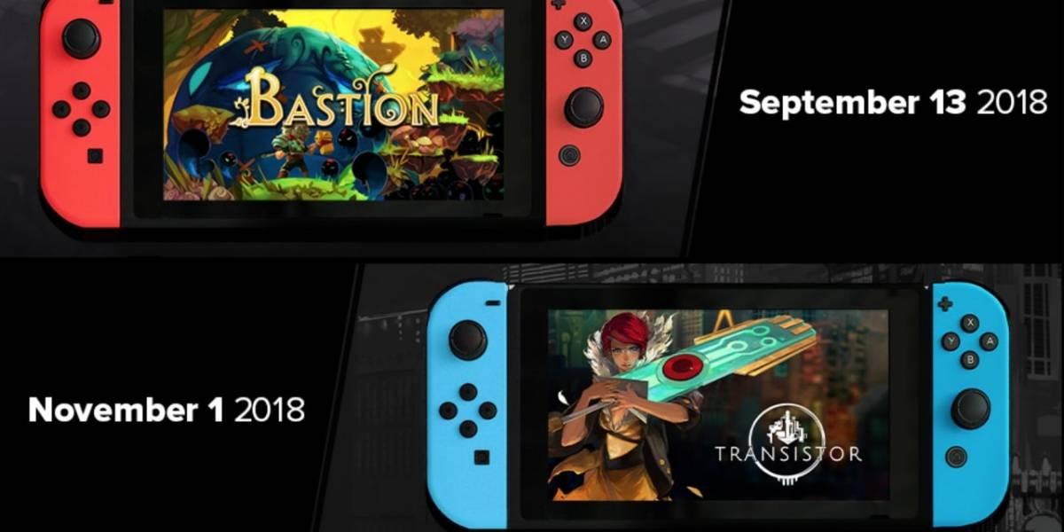 Bastion y Transistor se lanzarán en Nintendo Switch