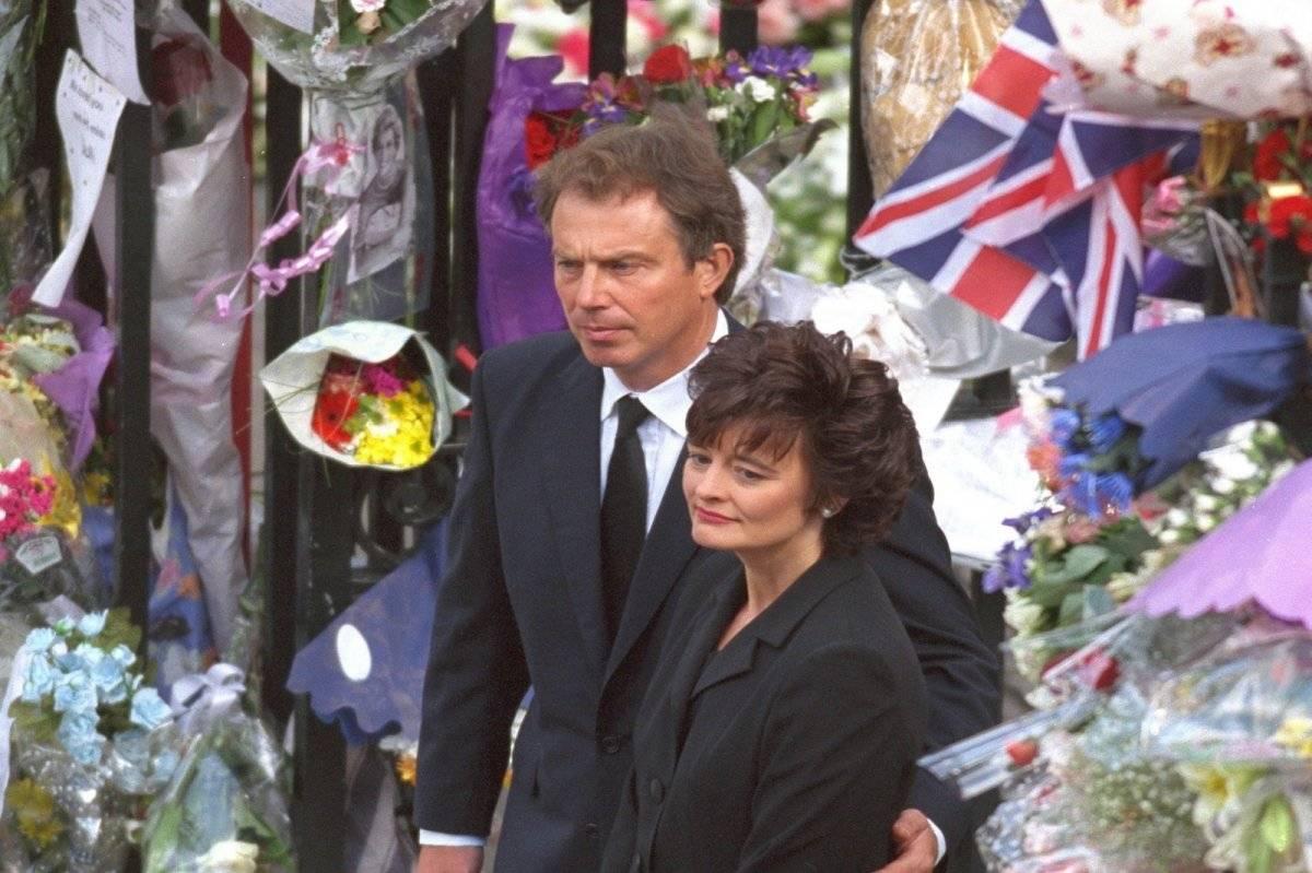 Tony Blair Funeral Diana