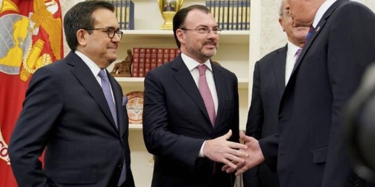 Acuerdo del TLCAN no implica el pago del muro: Videgaray