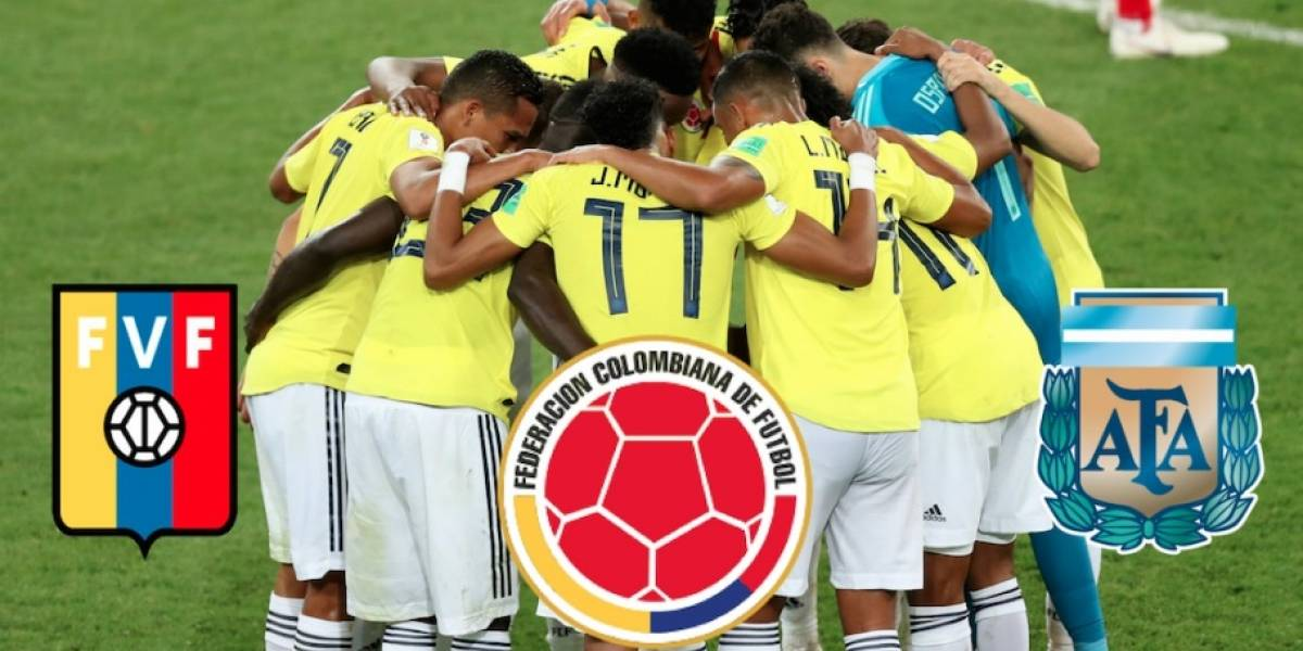 ¡Oficial! Convocatoria de Colombia para los amistosos contra Venezuela y Argentina del mes de septiembre
